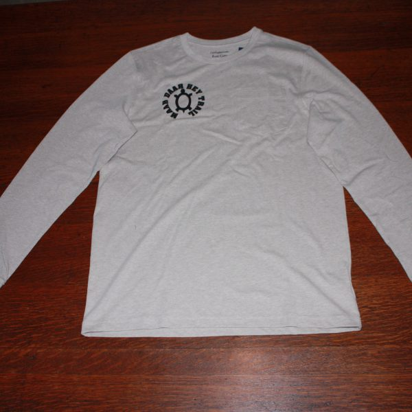 Crew-Neck Long Sleeve T-Shirt