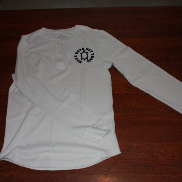 Three-Button Long-Sleeve T-Shirt